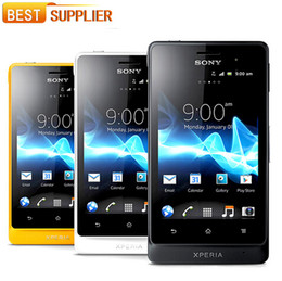 Unlocked Original Sony Xperia Cell phone 5MP Camera Wifi GPS Android sony st27 refurbished cellphone