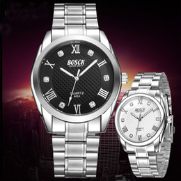 Luxury Steel Mens 30M Waterproof Crystal Watches for Man Sport Watch Luxury Brand Casual Fashion Three Six Pin Business Watch