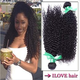 Wholesale Unprocessed Malaysian Virgin Hair Kinky Curly Cheap A Human Hair Extension Virgin Malaysian Curly Weave Bundles Breathing Air quot quot