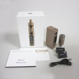 Wholesale 5 colors Evic VTC Mini Tron Evic vtc Mini w Mod Kit with ml Tron s Temperature Control Joyetech V2 Kit free DHL shipping