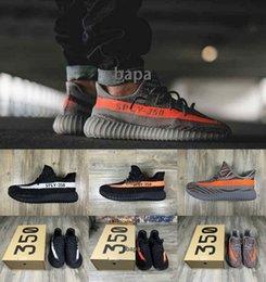 Wholesale 2016 New Boost SPLY V2 Beluga Sneakers Kanye West Shoes Steel Gery Orange SPLY Boost Season Running Shoes Sneakerss Gr