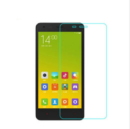 For Xiaomi Red Mi2 Mi3 Hongmi note 2A 5S PLUS 0.26mm Glossy premium Anti Scratch Tempered Glass Front Clear Screen Protector