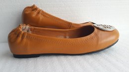 hot sale 2016 new Special womens Genuine Leather Flat Ballets shoes