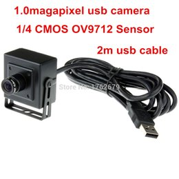 Wholesale 1 megapixel x free driver cctv CMOS OV9712 box USB Industrial Webcam camera with mm lens