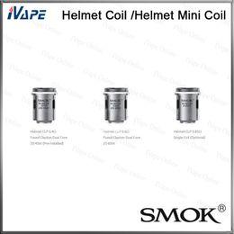 Wholesale Smok Helmet Atomizer Coils Original ohm ohm ohm Helmet CLP Coil Head For Helmet Atomizer and Helmet Mini Tank