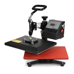Wholesale 12 X10 VEVOR Shoes and T shirt Printing Heat Press Machine Mini Cushion hot press machine