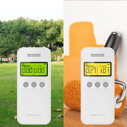 Wholesale 1 Portable Nine in one Air Detector Formaldehyde detector Air quality testing instrument Decoration measuring device