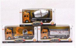 Wholesale Childre Toys Pull Back Model Car Excavator Transport Truck Asphalt Stirrer Alloy Toy Cars Children Kids Gift for Boys