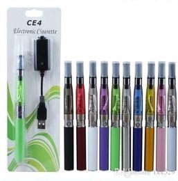 Cigarette électronique produits de désaccoutumance en Ligne-New CE4-EGO atomiseur cigarette électronique e kit cig 650mAh 900mAh 1100mAh EGO-T produits batterie de sevrage tabagique pour arrêter de Kit de boîte en plastique