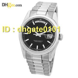 Wholesale new watches K White Gold Day Date President Z Serial Engraved Box Warranty