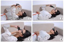 Tv prisma en Línea-La lectura horizontal 200pcs TV se sienta los vidrios de la visión en cama acuestan las gafas de prisma de la cama los vidrios perezosos # 001