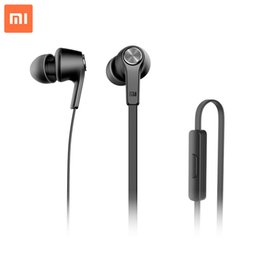 Wholesale Big sale Original Xiaomi Piston Colorful Mi In Ear earphones For Smartphone with QR code can be checked on offical website