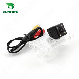 Wholesale CCD Track Car Rear View Camera For Mitsubishi Pajero American version Parking Assistance Camera with Track Line Night Vision KF V1131L