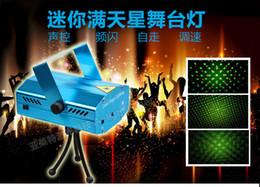 2017 des vacances mini-lumières Location Vente Bleu Laser Mini Stage éclairage 150mW Mini GreenRed LED laser DJ Party scène Black Light Disco Dance lampadaires des vacances mini-lumières sur la vente