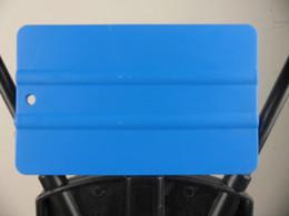 Wholesale Blue color Plastic Car Sticker Vinyl Film Wrapping Tools Plastic PP Squeegee cm cm