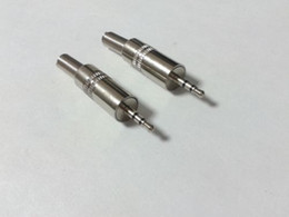 lot 5 X 2.5mm metal Stereo Male Plug Jack Audio Soldering Connector