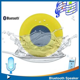 Wholesale Impermeabile portatile senza fili bluetooth speaker acqua computer assorbibili mini subwoofer altoparlanti musica altoparlanti