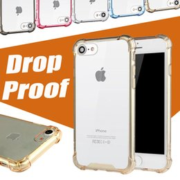 Wholesale Arcylic Case For iPhone Case Drop proof Camera Protection Soft TPU PC Clear Full Hard Case For iPhone Plus S Samsung S7 Edge