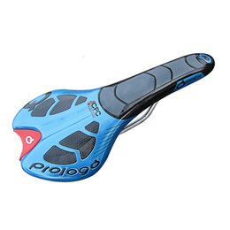 Wholesale New Prologo Bike Saddle MTB Road Bicycle Saddles Soft PU Leather Mountain Cycling Seat Cushion Pad Bicycle parts Color