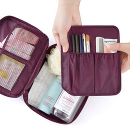 Wholesale Portable Hanging Toiletry Bag Portable Travel Organizer Cosmetic Bag for Women Makeup or Men Shaving Kit with Hanging Hook for vacation
