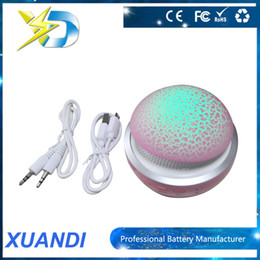 Wholesale Factory Price Bluetooth Speaker Mini Speaker Bulit in Battery Handsfree With LED Flash Lighting Support TF Card USB With Retail Box