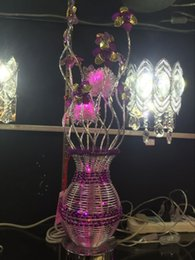 Wholesale Manufacturers selling modern creative aluminum lamp room lamp aluminium vase