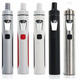 Commencer ego kit en Ligne-Kit authentique Joyetech EGO Aio Kit 1500mAh Quick Start Vaporisateur Kit All in One Starter 0.6ohm avec Colorful LED
