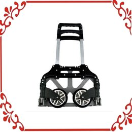 Wholesale Collapsible Trolley Lage Push Truck Hand Aluminium Cart Folding Dolly lbs