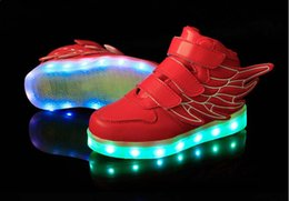 NEW style children's LED light shoes kids Nightclub dance shoes boys and girls sneaker fashion shoes casual shoes for 4-16 years child.