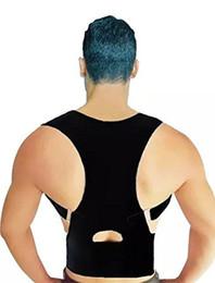 Wholesale Custom Design Print Logo Medical Grade Adjustable Magnetic Posture Support Back Brace Relieves Neck Back and Spine Pain Improves Posture