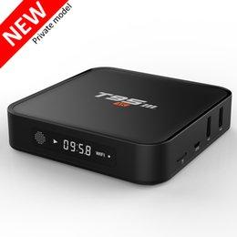 Wholesale T95M Android tv box k video Amlogic S905x quad core G G bit Android kodi Smart Media Player better than T95 TV Box