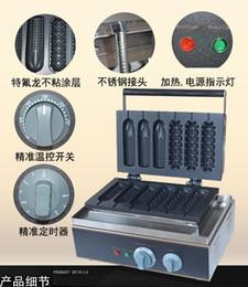Wholesale Mixed model Lolly Hot Dog Machine Waffle Stick