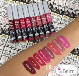 Wholesale 2016 Latest Arrival Meet Matte Hughes Lipstick Long Lasting Waterproof Lip Gloss Lipstick Colors