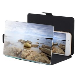 """8.2"""" Camouflage Enlarge 3 times of Mobile Phone Screen Magnifier Amplifier HD Expander Stand Holder for 3D Movie Video Display"""