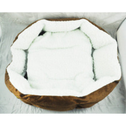 Wholesale Best selling Luxury Unique Warm Indoor Soft Pet Dog Cat Bed Cushion Dog Puppy Sofa House Bed with Mat Supplies