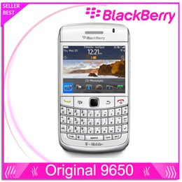 unlocked cell phone Original BlackBerry 9650 Phone with Wi-Fi GPS 3.2MP Camera+QWERTY 3G  In Stock refurbished mobile phone