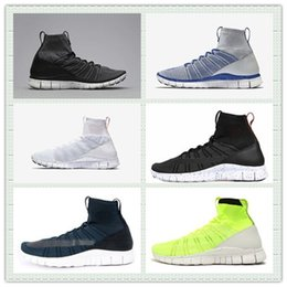 Wholesale New Style Knit Mesh HTM Free Mercurial Superfly SP Sports Shoes Men Women Running Shoes Trainer Sneakers With Box Size US5