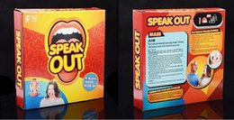 Wholesale Speak Out Game Party Challenge Game Watch Your Mouth Funny Board Party Mouthguard Guess Words Game Christmas gift
