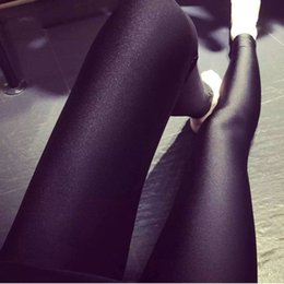 Wholesale Spring summer feet pants played high gloss pants hot style Portugal nine points exceed elastic thin female leggings