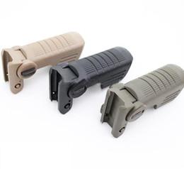 Unmark CAA FVG1 Folding Vertical Fore Grip Tactical Folding Forearm Tan