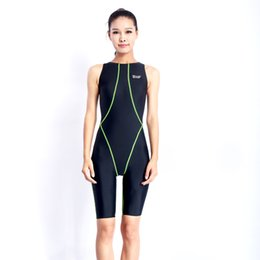 Wholesale Swimsuits competitive swimming suits girls racing swimwear women competitive Sharkskin swim suit competition swimsuit knee NEW