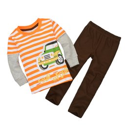 Fashion Children Clothes Sets Boys T-Shirts Pants Suit Girls Jumpers Tops Outfits Wholesale Top Quality Kids Tracksuits