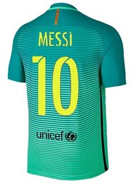 Wholesale Barcelona jerseys euro NEW SEASON BEST QUALITY Argentina BARCELONA Football jerseys SUAREZ MESSI rd SHIRT