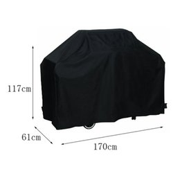 Wholesale Waterproof BBQ Cover Outdoor Rain Barbecue Grill Protector M For Gas Charcoal Electric Barbeque Grill