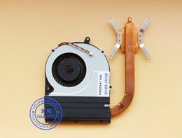 New Original for Toshiba S55 S55D S55T-A Laptop cooling fan with heat sink H000047190
