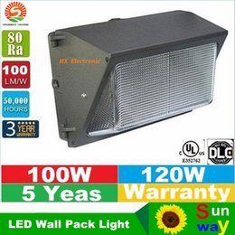 Wholesale Wall pack led lighting W W lm w led retrofit kits wall pack light fixtures led shoebox light Cree led years warranty
