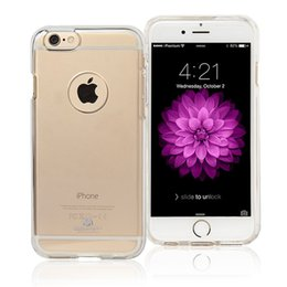 Wholesale Iphone Plus Goospery Clear Jelly TPU Case For Iphone s plus Clear Back Cover Case With Dust Plug dustproof tpu back cover iphone