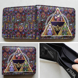 Game The Legend of Zelda Logo 03 wallets Purse Multi-Color 12cm Leather New W202