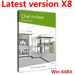 Wholesale Latest Version Chief Architect Premier X8 V18 For Win Bit English Version Full Function Fast Delivery