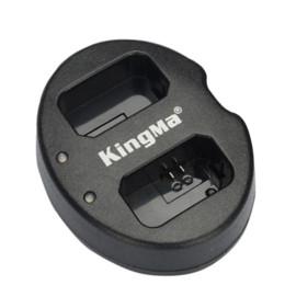 A7r sony en Línea-Kingma puertos USB cargador dual de doble cargador para Sony NP-FW50 Batería para Alpha Alpha 7 a7 7R A7R 7S A7S A3000 A6000 A5000